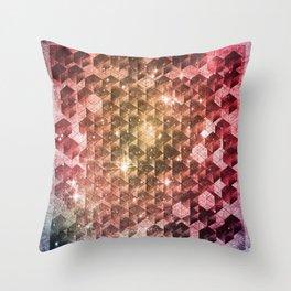 spheric cubes Throw Pillow
