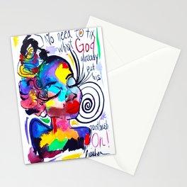 God's Masterpiece Stationery Cards