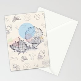 Seaside Cottage Beach Boi - Collab w Freezing Paint Stationery Cards