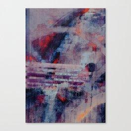 disquiet twenty two (crack of the bones) Canvas Print