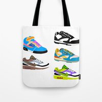 90s Tote Bags featuring CLASSIC 90s by misha zaccour