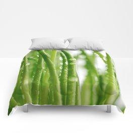 Green gras 03 Comforters