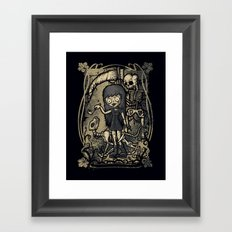 In The Darkness Framed Art Print