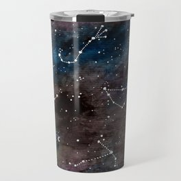 Zodiac Constellations Travel Mug