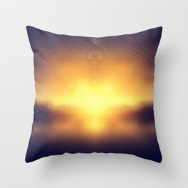welcome to the dream gate. ayahuasca trip Throw Pillow
