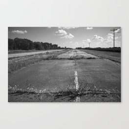 Abandoned Route 66 2012 Canvas Print