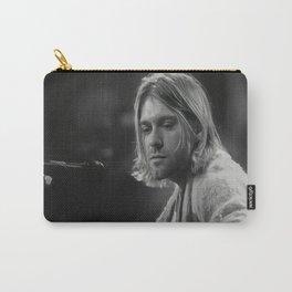 Kurt Co-bain MTV Unplugged 1993, Premium Poster, Nirvana, Quality Print Carry-All Pouch
