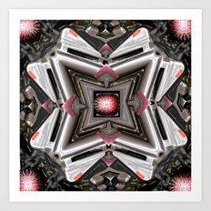 Internal Kaleidoscopic Daze- 1 Art Print