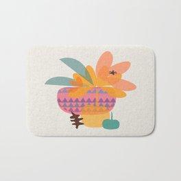 Tropical Fruit Basket Bath Mat