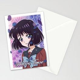 Hotaru Tomoe Cystal Stationery Cards