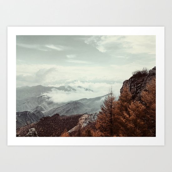 Lets Adventure darling Art Print