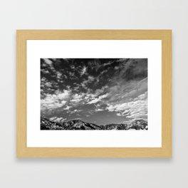 Lyttelton Sky Framed Art Print