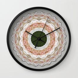 Ring of Roses Wall Clock