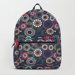 Flowers of Circles Backpack