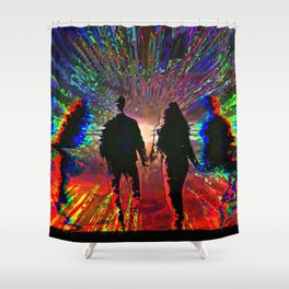 Kindred Spirits Shower Curtain