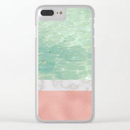 Dip II Clear iPhone Case