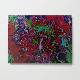 Abstract Dance Metal Print