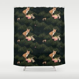 the peace offering Shower Curtain