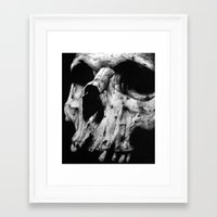 toothless Framed Art Prints featuring Toothless by Danielle Mariah