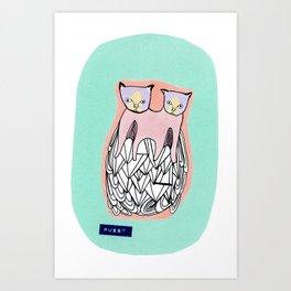 pussy Art Print