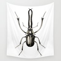 insect Wall Tapestries featuring INSECT №7 by Reel Feel