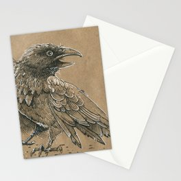 Raven / Crow Stationery Cards