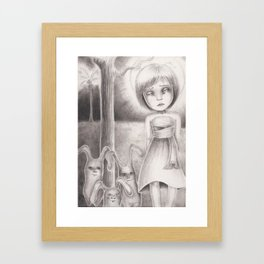"""Janguru wa Itsumo Hare.."" Framed Art Print"