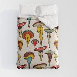 Sexy mushrooms Comforters