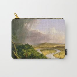 The Oxbow (Connecticut River near Northampton) by Thomas Cole Carry-All Pouch
