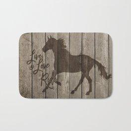 The Horse Rider Bath Mat