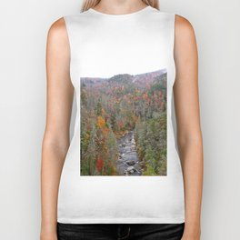 Fall Forest, Vertical Biker Tank