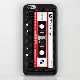 1980's Mix Tape Cassette iPhone Skin