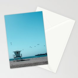Birds and lifeguard Stationery Cards