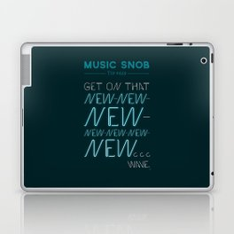 The NEW-New Wave — Music Snob Tip #629 Laptop & iPad Skin