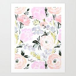 Mirabelle Floral Art Print