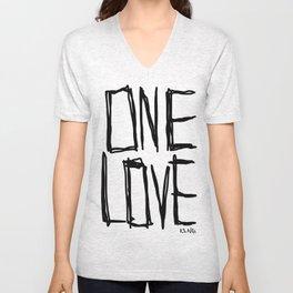 One Love Unisex V-Neck