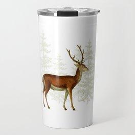 Wandering deer  Travel Mug