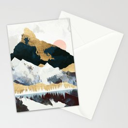 Winters Day Stationery Cards