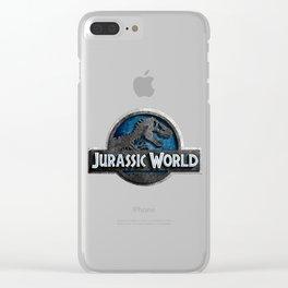 Jurassic World Clear iPhone Case