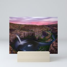 Palouse Falls Mini Art Print