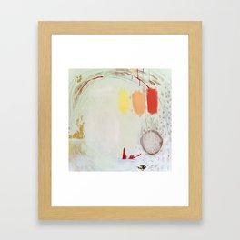 Miss Carriage Framed Art Print