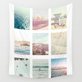California Dream 9 Photo Print Wall Tapestry