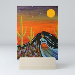 Desert Mother Mini Art Print