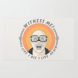 MAD MAX - WITNESS ME! Rug