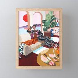 Tiger Queen Framed Mini Art Print