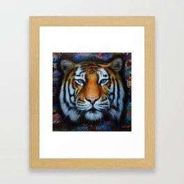 Tiger of Hosier Lane Framed Art Print