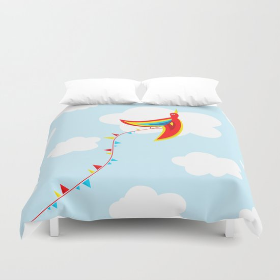 Kite Bird Duvet Cover