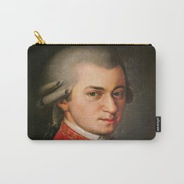 Barbara Krafft - portrait of Mozart Carry-All Pouch