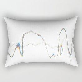 Scanner Drawing Rectangular Pillow