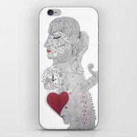 selfie iPhone & iPod Skins featuring Selfie by Ina Spasova puzzle